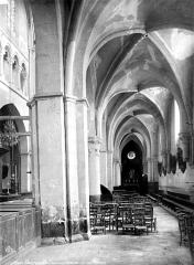 Eglise Notre-Dame - Intérieur : bas-côté sud