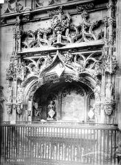 Ancienne abbaye de Brou - Eglise, intérieur : tombeau de Marguerite d'Autriche