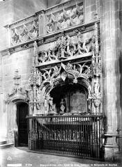 Ancienne abbaye de Brou - Eglise, intérieur : tombeau de Marguerite de Bourbon