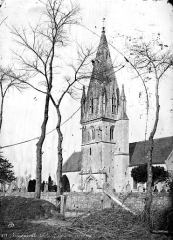 Eglise - Ensemble sud, clocher