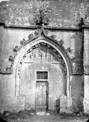 Eglise - Clocher : porte