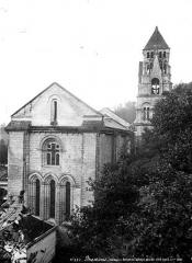 Ancienne abbaye - Eglise Saint-Pierre-et-Saint-Sicaire : Ensemble nord-est