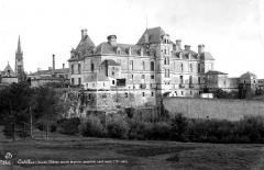 Château des Ducs d'Epernon, actuellement Musée historique et iconographique - Ensemble nord-ouest