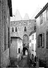 Cité de Carcassonne - Ensemble, côté ville