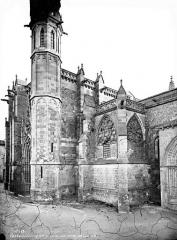 Eglise Saint-Nazaire - Extérieur , transept nord