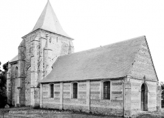 Eglise paroissiale Saint-Jean d'Abbetot - Ensemble nord-ouest
