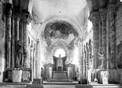 Eglise paroissiale Saint-Jean d'Abbetot - Intérieur : choeur