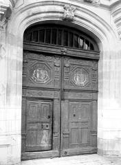 Domaine de Chenonceau - Château de Bohier : porte d'entrée, côté nord