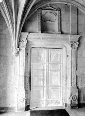 Domaine de Chenonceau - Intérieur : petite porte