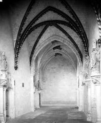 Château et ses abords - Chapelle : intérieur