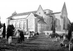 Eglise Saint-Pierre - Ensemble sud-ouest, pris depuis le cimetière