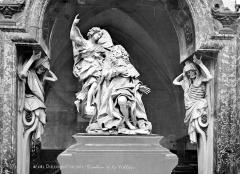 Eglise Saint-Martial - Intérieur : tombeau de la Vrillière, détail
