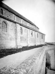 Eglise Saint-Mesmin - Partie de la façade sud