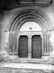 Eglise Saint-Victor - Portail nord