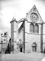 Eglise Saint-Aignan - Façade ouest