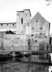 Ancienne église Saint-André - Ensemble, côté rivière
