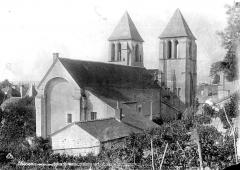 Ancienne abbaye Saint-Mexme - Ensemble nord-est