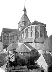 Eglise priorale Sainte-Croix - Ensemble sud-est
