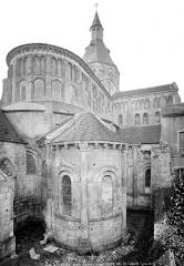 Eglise priorale Sainte-Croix - Ensemble nord-est