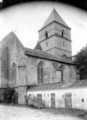 Eglise Saint-Chartier de Javarzay - Ensemble nord-est