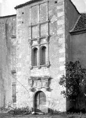 Ancien prieuré - Façade d'entrée