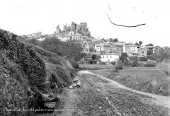 Château (restes) - Vue générale