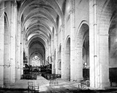 Eglise Saint-Martin - Eglise : Vue intérieure de la nef vers le choeur