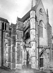 Basilique Notre-Dame - Ensemble nord-ouest