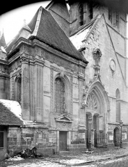 Eglise Sainte-Foy - Façade ouest