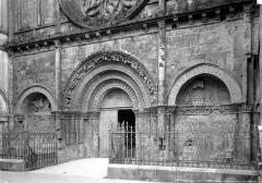 Eglise Saint-Léger - Portails de la façade ouest