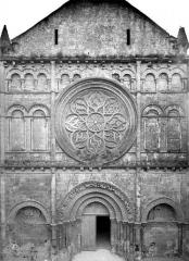 Eglise Saint-Léger - Façade ouest