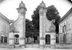 Ancienne abbaye Notre-Dame de la Couronne - Ancienne entrée