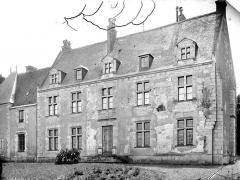 Château de la Possonnière, dit aussi Château de Ronsard - Façade ouest