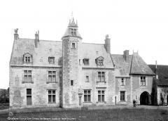 Château de la Possonnière, dit aussi Château de Ronsard - Façade est