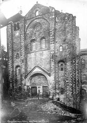Ancienne abbaye Sainte-Foy - Façade ouest