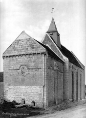 Eglise Saint-Denis de Condé - Ensemble nord-est