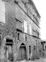 Maison Séguier ou du Grand Ecuyer - Façade sur rue vue en perspective
