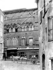 Maison du Grand Veneur - Façade sur rue