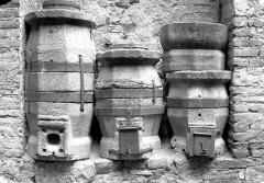 Maison du Grand Fauconnier - Anciennes mesures en pierre