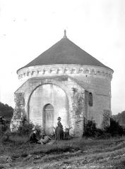 Ancienne chartreuse du Liget - Chapelle, côté entrée