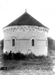 Ancienne chartreuse du Liget - Chapelle, côté fenêtres
