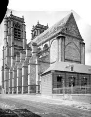 Eglise Saint-Pierre (ancienne abbatiale) - Ensemble sud-est