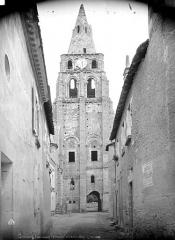 Ancienne abbaye bénédictine - Clocher, côté nord