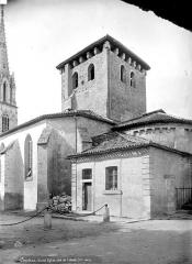 Eglise Saint-Jean Baptiste - Abside et tour carrée à la croisée du transept
