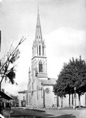 Eglise Saint-Jean Baptiste - Clocher, côté sud