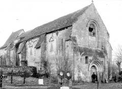 Eglise du cimetière (église Saint-Léger du Vieux-Bourg) - Ensemble nord-ouest