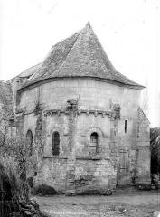 Eglise du cimetière (église Saint-Léger du Vieux-Bourg) - Abside