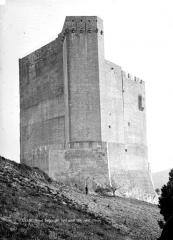Château - Donjon, côté nord-ouest