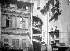 Hôtel Chambellan  dénommé également hôtel des ambassadeurs d'Angleterre - Façade