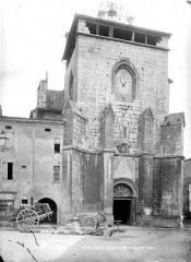 Ancienne cathédrale, actuellement Eglise Notre-Dame - Façade ouest